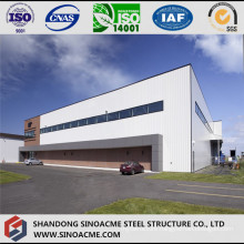 Large Span Steel Structure Aircraft Hangar with Full Length Door
