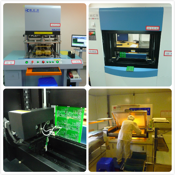 4 Layer PCB Production Shop