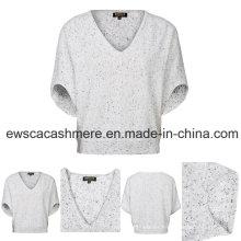Women′s Top Grade Pure Cashmere Knitwear Van-A16W-004