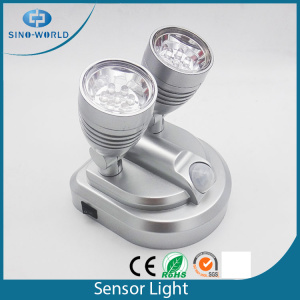Lamp Head Swivels Luz de sensor de LED de 360 ​​graus