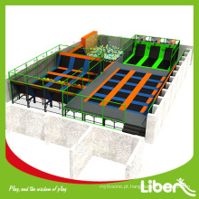 parque de trampolim personalizado interior para adulto