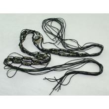 Мода Ручная работа воском шнур плетеные ремни-KL0039