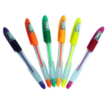 High Quality Highlighter Gel Ink Pen with Comfortable Grip