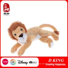 China Großhandelsgewohnheits-Tierlöwe Toy Animl angefüllter Spielzeug-Löwe