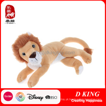China Atacado Personalizado Animal Leão Brinquedo Animl Stuffed Toy Lion