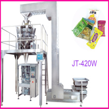 Automatic Puffed Food Packaging Machine (JT-420W)