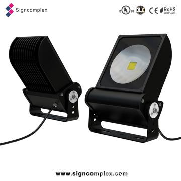 China IP65 Outdoor Bridgelux COB 90W UL Approved LED Flood Light