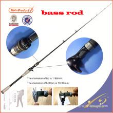 BAR0011pc chine nano graphite blanc canne à pêche basse tige canne à pêche