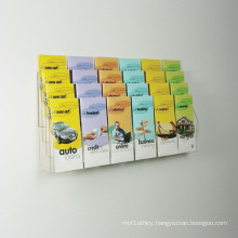 Pocket Clear Acrylic Wall Brochure Holder Display