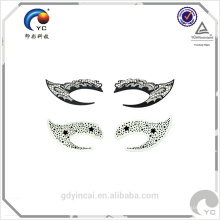 Augenschminketätowierungaufkleber Soems hohen Standards für Frauenmake-up, wasserdichte, langlebige, kundenspezifische Tätowierungsentwürfe