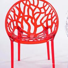 Cheap fashion simple hollow plastic creative chair