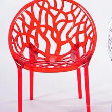 Cheap мода простой полый пластиковый креативный стул
