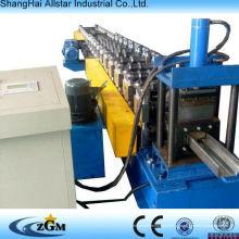 Máquina usada e equipamento do rolo do obturador porta rolo formando máquina fabricante do quadro de aço