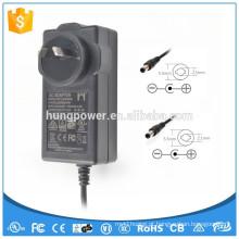 Montado na parede zf120a-2402500 para monitor LCD LED 2.5a transformador 24v 2.5a 60w