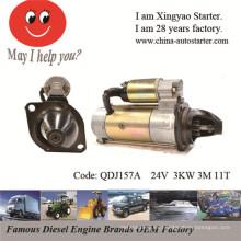 Partes del motor del barco Motor de arranque barato en la acción (QDJ1302)