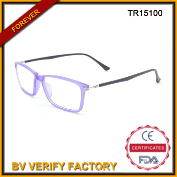 Fashion Adult Tr90 Optical Glasses in Purpple Color with Best Quality