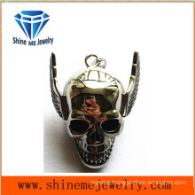 Fashion Stainless Steel Jewelry Necklace Skull Pendant
