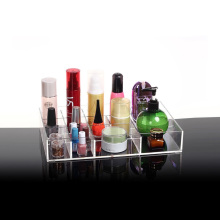 Acrylic Cosmetic Tray Makeup Organizer Storage Box