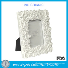 Rose Surround Ceramic Photo Frame