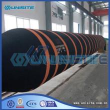 Flexibles flexibles en caoutchouc pour la construction de dragage