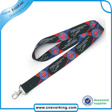 Farbdruck Sublimation Polyester Lanyard