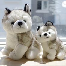 ¡Diseño modificado para requisitos particulares del OEM! ICTI BSCI Cumplido peluche de juguete suave husky