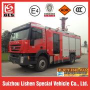 Truk pemadam kebakaran Genlyon 4X2 drive 7000L
