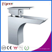 Fyeer Cheap Bathroom Waterfall Basin Faucet for Promotion