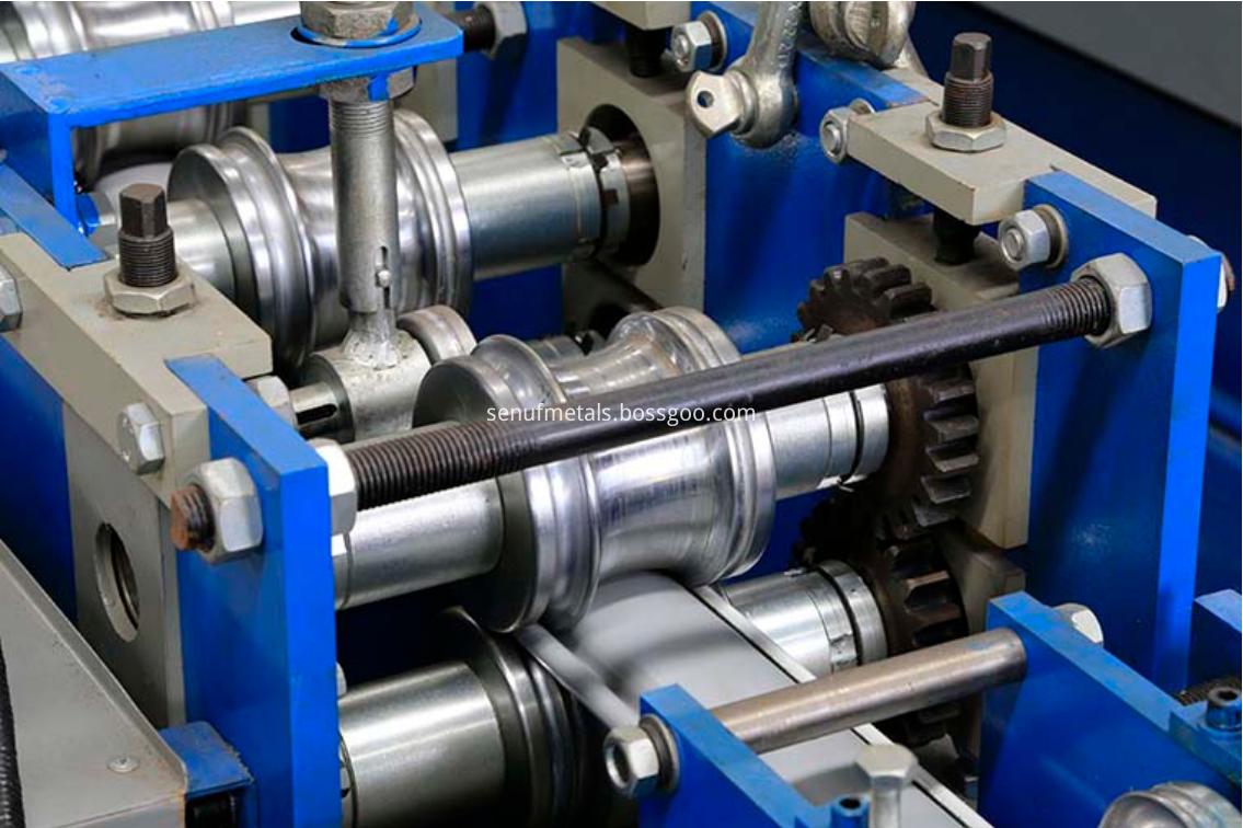 Roller shutter door forming machine rollers