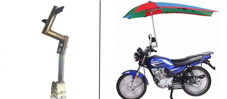 Motobike Umbrella windproof motorcycle umbrella shaft