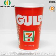 12 Oz taza de papel bebida fría venta por mayor de helado