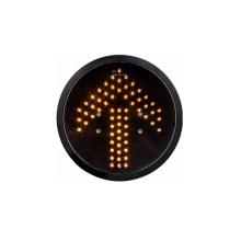 Module de feu de signalisation de la flèche LED jaune de 200mm