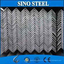 Barre d'angle en acier galvanisé de forme égale et inégale de carbone