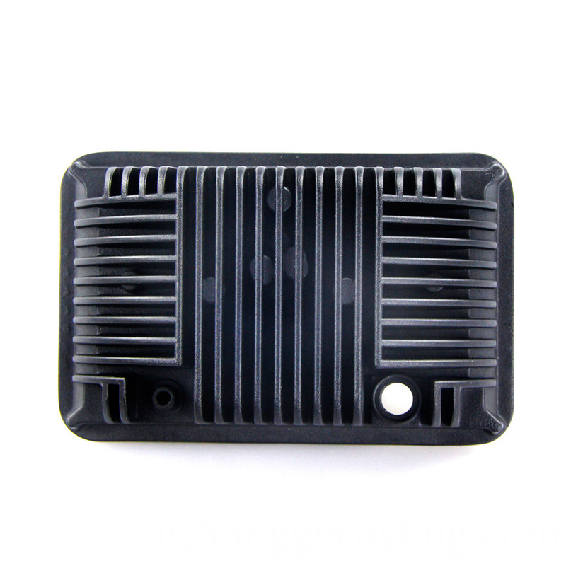 Aluminum die casting 7 inches square light radiator