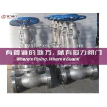 Engranaje cónico de acero al carbono Op. Válvula de globo