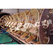 Equipamento de aço inoxidável do revestimento de vácuo da folha PVD, planta de revestimento de vácuo, vácuo Coater