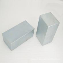 Block Permanentmagnete mit starken magnetischen