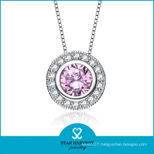 Trendy Pendant Necklace Made of Silver (SH-N0086)