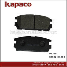 Auto Disc Brake Pads Manufacturers for Hyundai D1715 58302-H1A00