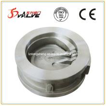 Válvula de retenção de balanço de bolacha de disco único 316 Pn25