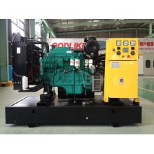 CE, groupe électrogène diesel de type ouvert 120kVA approuvé par l'ISO (6BTA5.9-G2) (GDC120)