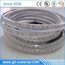 Tuyauterie en plastique carrée de PVC de tube creux de tube d'OEM pour des chaussures de LED et la bande de LED