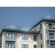 12mm Epaisseur Balcon en verre trempé moderne