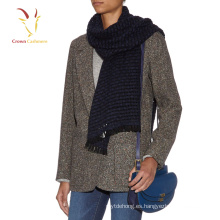 Bufanda de lana con flecos de 100% Pure Cashmere en Inglaterra