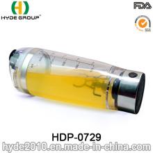 Bouteille de secoueur de protéine de vortex de la qualité AAA en plastique, bouteille électrique de dispositif trembleur de protéine (HDP-0729)