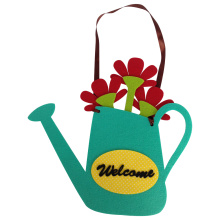 Easter pouring vase shape hanging wall sign