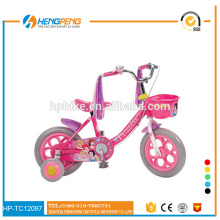 2015 Selling Best Kids Exercise Bikes with Beautiful Stickers Decals