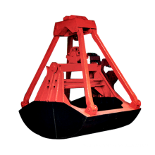 Electric Hydraulic Scrap Orange Peel Grab Bucket
