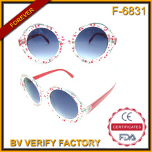 F-6831 Beautiful Looking Fashionable Plastic Sun Spectacle Frames Manufactured by Chinese Factories