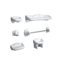 hotsale new design ceramic 7 piece bathroom set